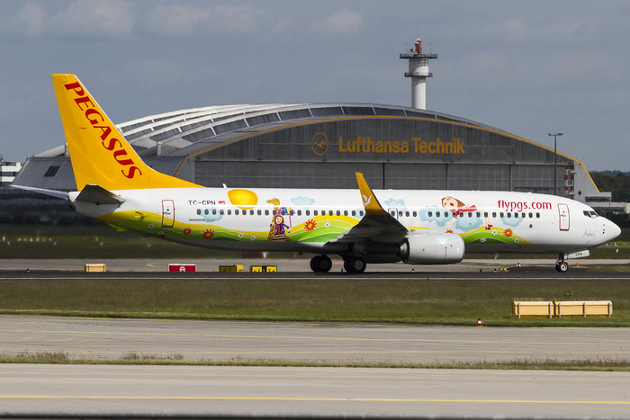 TC-CPN B737-82R 40013/5300 Pegasus Airlines @ Frankfurt Airport 08.05.2015 © Piti Spotter Club Verona