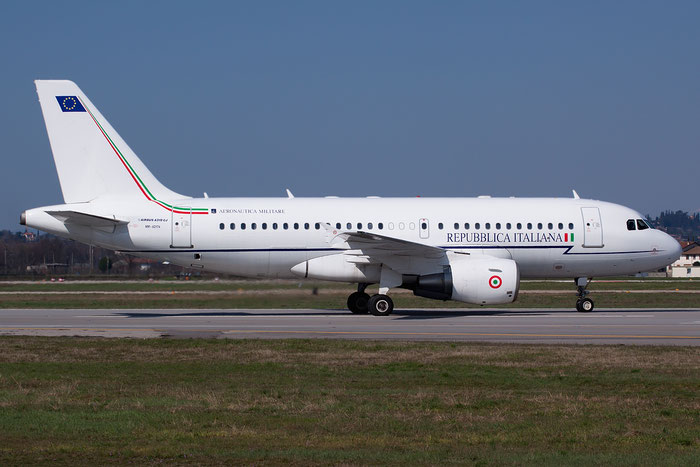 Italy - Air Force Airbus A319-115X(CJ) - MM62174 @ Aeroporto di Verona © Piti Spotter Club Verona