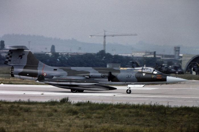 MM6815  37-07  F-104S-ASA  1115 @ Aeroporto di Verona   © Piti Spotter Club Verona