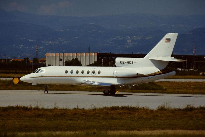 OE-HCS - Dassault Falcon 50 - Tyrolean Air Service @ Aeroporto di Verona © Piti Spotter Club Verona