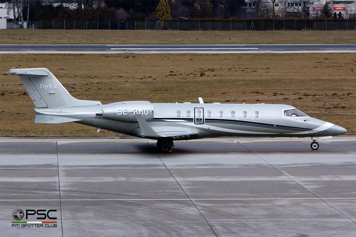 SE-RMO Learjet 45XR 45-372 Hummingbird Aviation Services @ Innsbruck Airport 09.01.2016 © Piti Spotter Club Verona