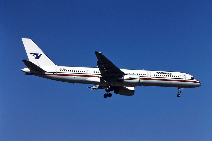 SX-BBY B757-2Y0 26151/472 Venus Airlines @ Aeroporto di Verona © Piti Spotter Club Verona