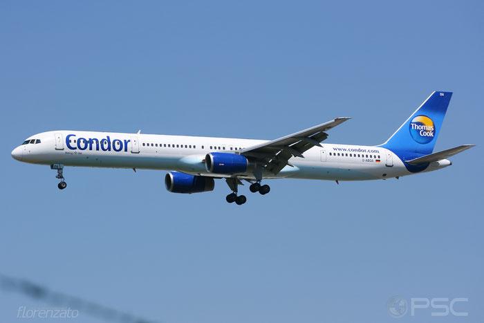 D-ABOA B757-330 29016/804 Condor Flugdienst @ Frankfurt Airport 2009  © Piti Spotter Club Verona