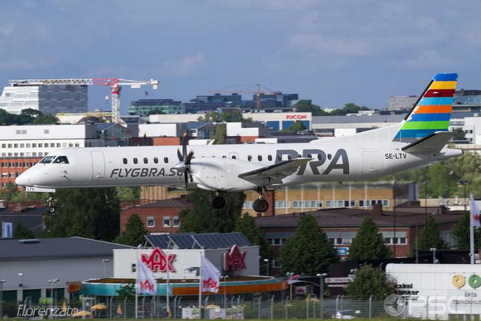 SE-LTV Saab 2000 2000-063 BRA - Braathens Regional Airlines @ Stockholm Bromma Airport 19.08.2016 © Piti Spotter Club Verona