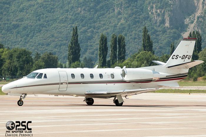 CS-DFU Ce560XLS 560-5520 NetJets Europe @ Aeroporto di Bolzano © Piti Spotter Club Verona