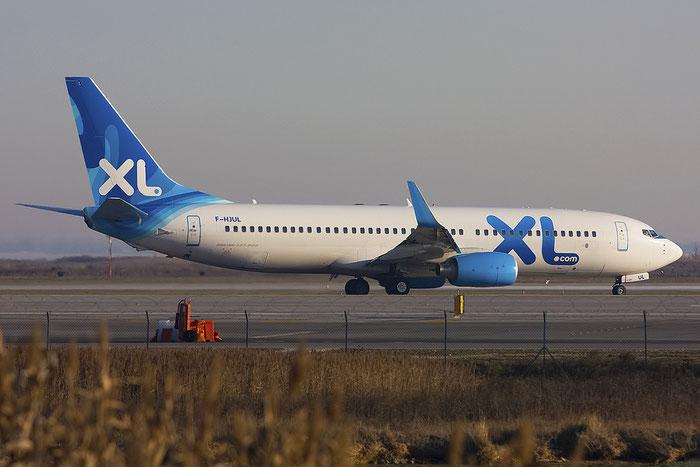 F-HJUL B737-8Q8 38819/3519 XL Airways France @ Venice Airport 08.01.2012 © Piti Spotter Club Verona