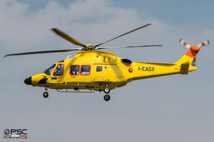 I-EASX Leonardo Helicopters AW169 ( c/n 69046 ) - mfg: 2016 @ Varese Venegono Airport 05.2017 © Piti Spotter Club Verona