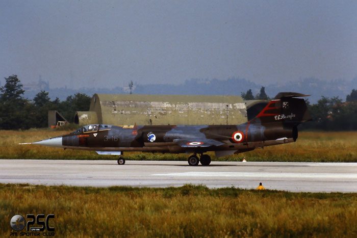 Gli F-104 del Terzo Stormo: 3-16 -  @ Aeroporto di Verona   © Piti Spotter Club Verona