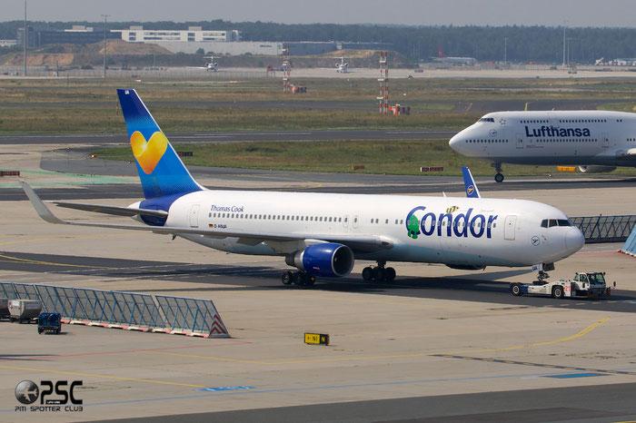 D-ABUA B767-330ER 26991/455 Condor Flugdienst @ Frankfurt Airport 25.07.2014 © Piti Spotter Club Verona