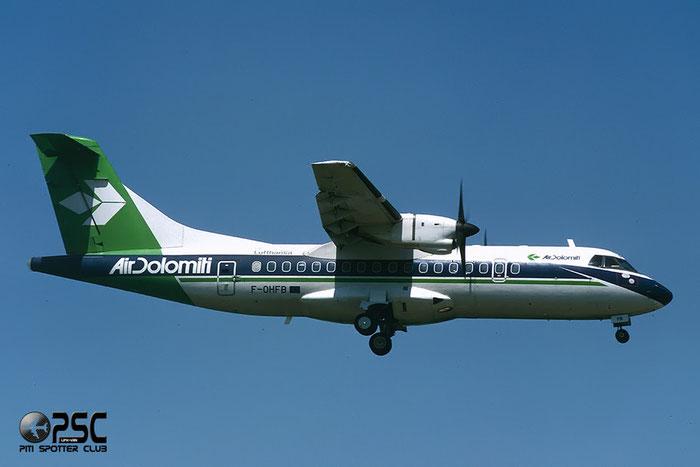 F-OHFB  ATR42-320  366  Air Dolomiti @ Aeroporto di Verona © Piti Spotter Club Verona