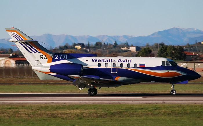 RA-02771 BAe125-700B 257214/NA0349 @ Aeroporto di Verona 12.2018  © Piti Spotter Club Verona