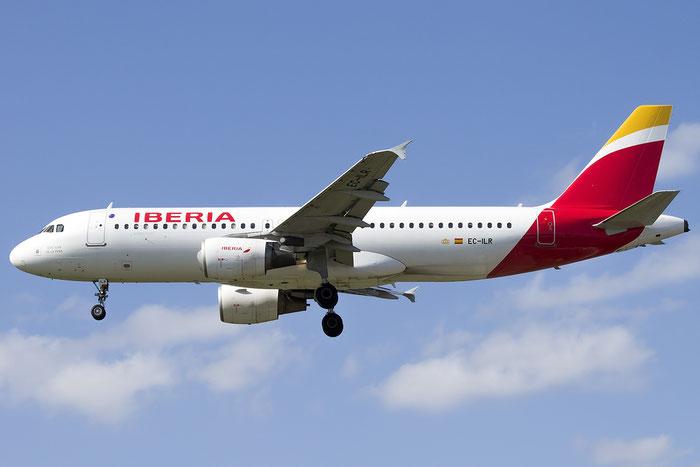 EC-ILR A320-214 1793 Iberia Líneas Aéreas de España @ London Heathrow Airport 13.05.2015 © Piti Spotter Club Verona