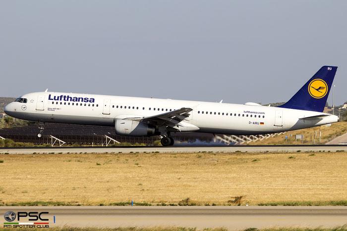 D-AIRU  A321-131  692  Lufthansa @ Athens 09.2019 © Piti Spotter Club Verona