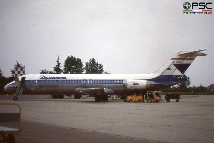 EC-CTS DC-9-34CF 47704/819 Aviaco - Aviación y Comercio © 2018 courtesy of Marco Ceschi - Piti Spotter Club Verona