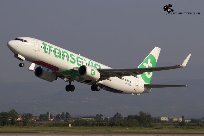 PH-HZN  B737-8K2  32943/1478  Transavia Airlines  @ Aeroporto di Verona 09.2020  © Piti Spotter Club Verona