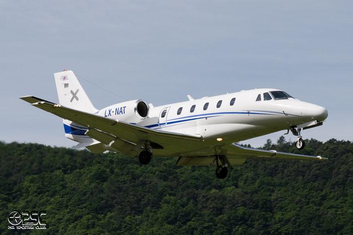 LX-NAT Ce560XLS 560-5564 Luxaviation SA @ Aeroporto di Bolzano © Piti Spotter Club Verona