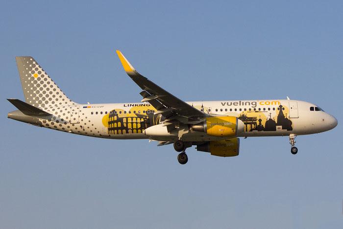EC-LVP A320-214 5587 Vueling Airlines @ Bologna Airport 14.03.2014 © Piti Spotter Club Verona