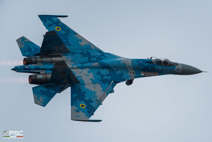 58 bl  Su-27P1M  36911035612  831 BrTA © Piti Spotter Club Verona