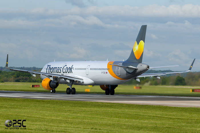 G-TCDE A321-211 6056 Thomas Cook Airlines @ Manchester Airport 13.05.2014 © Piti Spotter Club Verona