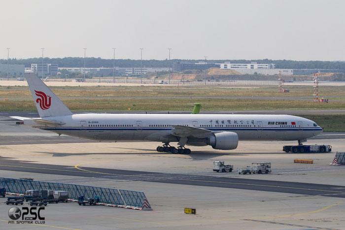 B-2089 B777-39LER 38675/990 Air China @ Frankfurt Airport 25.07.2014 © Piti Spotter Club Verona