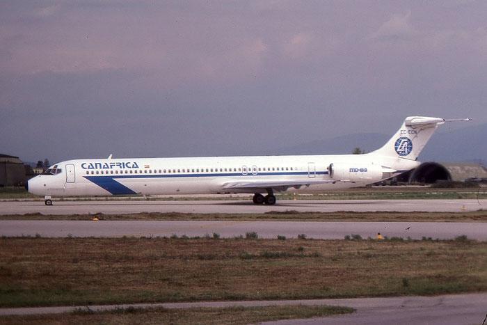 EC-ECN MD-83 49401/1357 Canafrica Transportes Aéreos © 2017 courtesy of Marco Ceschi - Piti Spotter Club Verona