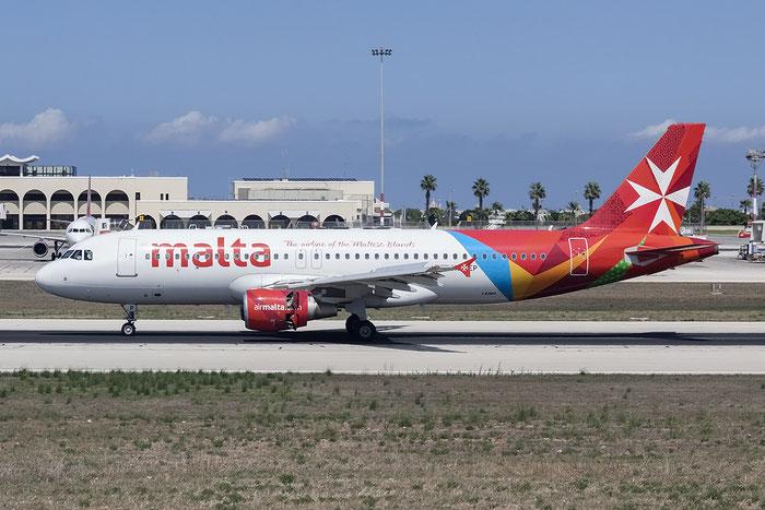 9H-AEP A320-214 3056 Air Malta @ Malta Airport 08.2015 © Piti Spotter Club Verona