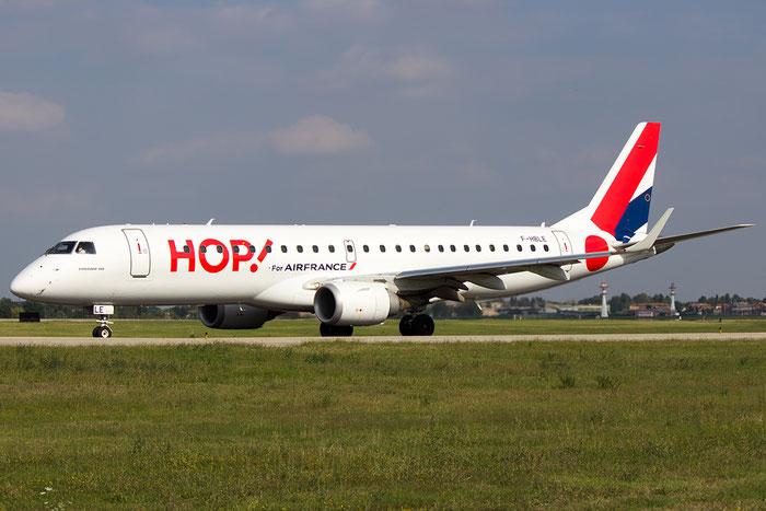 F-HBLE ERJ190LR 19000123 HOP! @ Bologna Airport 07.09.2014 © Piti Spotter Club Verona