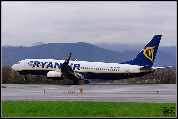 EI-DCG B737-8AS 33805/1530 Ryanair @ Bergamo Airport 07.12.2014  © Piti Spotter Club Verona