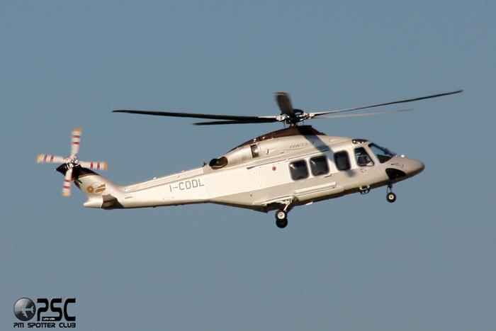 I-CDDL Airline: Consorzio Elicotteri Fininvest Aircraft: Agusta-Westland AW-139 @ Aeroporto di Verona © Piti Spotter Club Verona