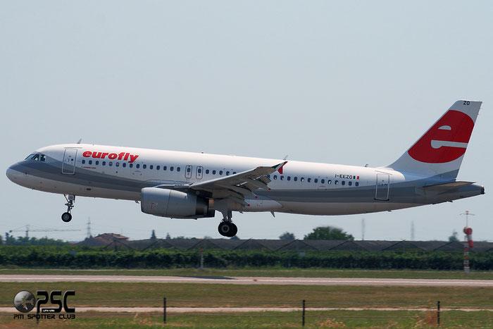 I-EEZO  A320-232  1723  Eurofly  @ Aeroporto di Verona © Piti Spotter Club Verona