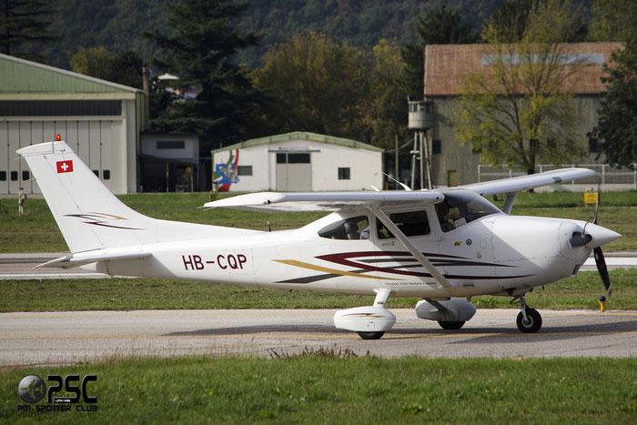 HB-CQP Cessna 182S Skylane C182 18280200 Gruppo Volo Motore Lugano @ Aeroporto di Bolzano © Piti Spotter Club Verona