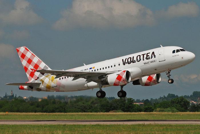 EC-MUX A319-111 2037 Volotea Air @ Aeroporto di Verona 23.05.2018  © Piti Spotter Club Verona