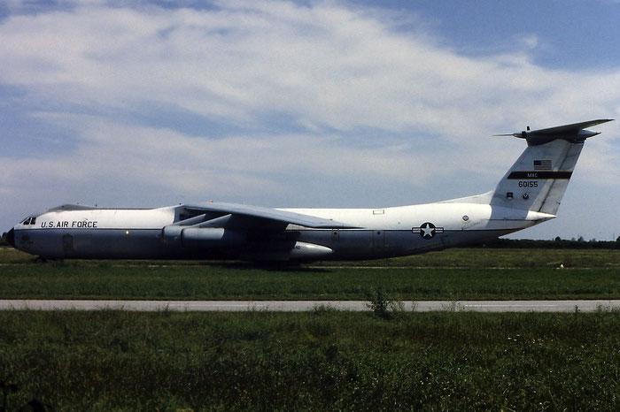 66-0155   C-141B mod  300-6181 @ Aeroporto di Verona   © Piti Spotter Club Verona