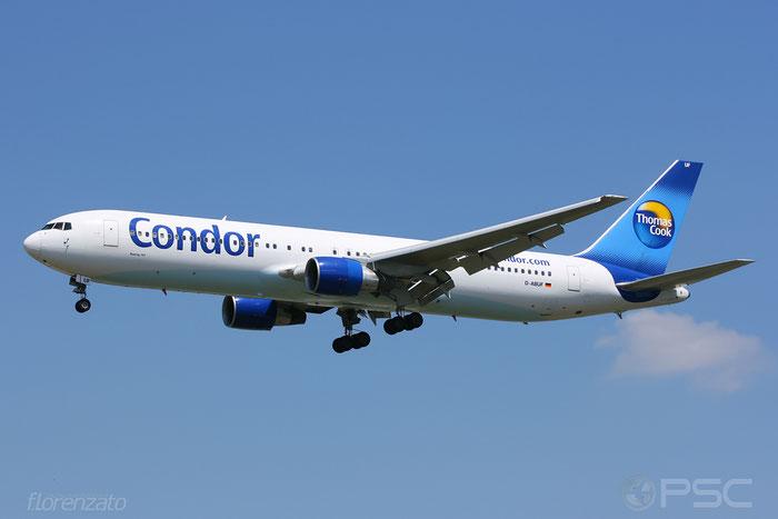 D-ABUF B767-330ER 26985/537 Condor Flugdienst @ Frankfurt Airport 2009  © Piti Spotter Club Verona