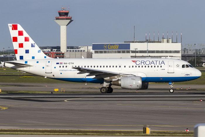 9A-CTH A319-112 833 Croatia Airlines @ Frankfurt Airport 08.05.2015 © Piti Spotter Club Verona