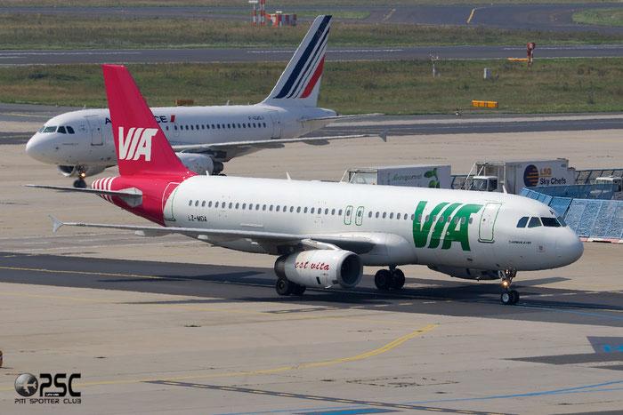 LZ-MDA A320-232 2732 Air VIA Bulgarian Airways @ Frankfurt Airport 25.07.2014 © Piti Spotter Club Verona