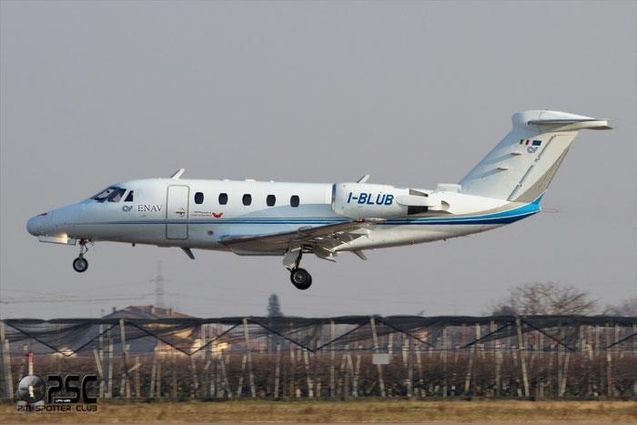 I-BLUB - Italy - Ente Nazionale Assistenza al Volo (ENAV) Cessna 650 Citation VI - I-BLUB @ Aeroporto di Verona © Piti Spotter Club Verona