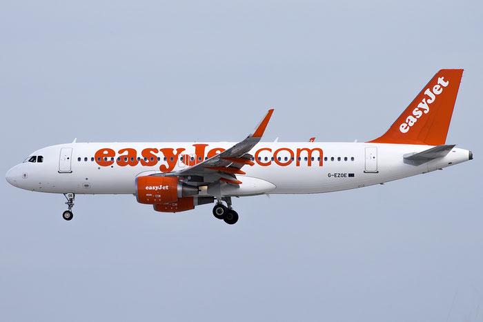 G-EZOE A320-214 6509 EasyJet Airline @ Venezia Airport 01.10.2015  © Piti Spotter Club Verona