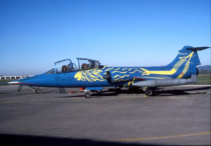 MM54253  4-20  TF-104G-M  583H-5204   @ Aeroporto di Verona © Piti Spotter Club Verona