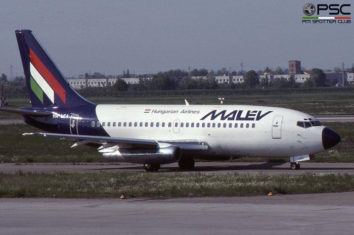 HA-LEA B737-2Q8 21735/582 Malév Hungarian Airlines-Magyar Légiközlekedési Vallalat © 2018 courtesy of Marco Ceschi - Piti Spotter Club Verona