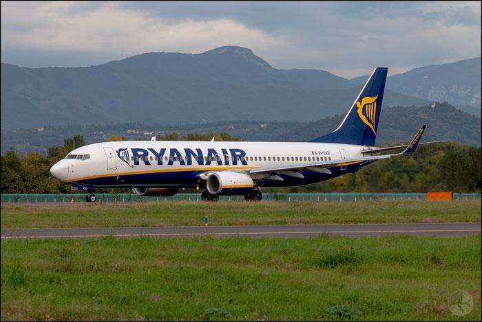 EI-EXD B737-8AS 40320/4240 Ryanair @ Bergamo Airport 14.10.2014 © Piti Spotter Club Verona