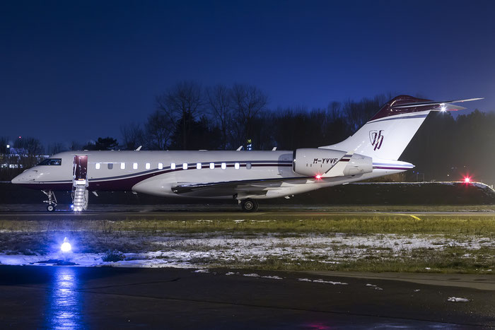 M-YVVF Global 6000 9590 Lightstar Aviation Ltd. @ Zurich Airport 20.01.2016 © Piti Spotter Club Verona