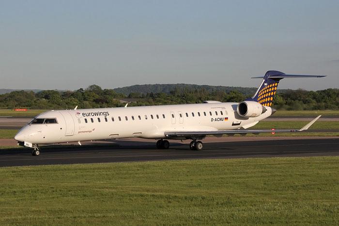 D-ACNU CRJ900LR 15267 Eurowings @ Manchester Airport  13.05.2014 © Piti Spotter Club Verona