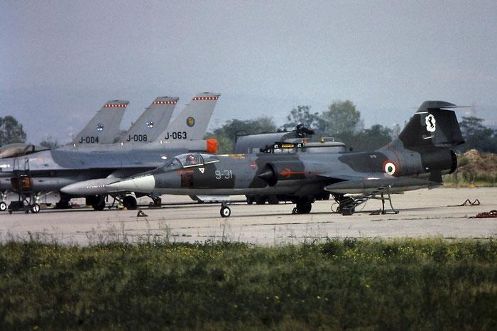 MM6819  9-31  F-104S-ASA  1119 @ Aeroporto di Verona   © Piti Spotter Club Verona