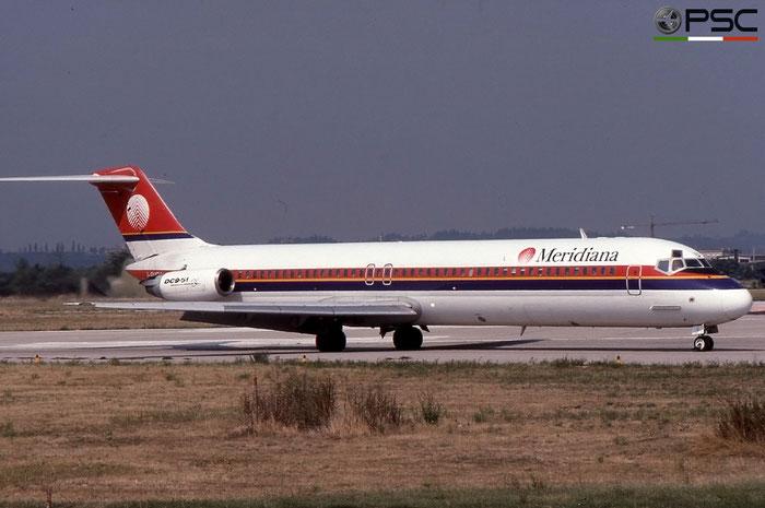 I-SMEU  DC-9-51  47715/825  Meridiana  @ Aeroporto di Verona © Piti Spotter Club Verona