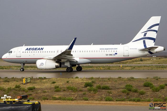 SX-DNC  A320-232  6961  Aegean Airlines  @ Athens 2019 © Piti Spotter Club Verona