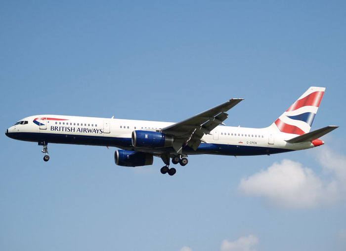 G-CPEN B757-236 28666/751 British Airways @ London Heathrow Airport 08.2007 © Piti Spotter Club Verona