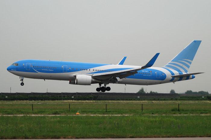 OO-TUC  B767-341ER  24844/324  TUI Airlines Belgium - @ Aeroporto di Verona © Piti Spotter Club Verona