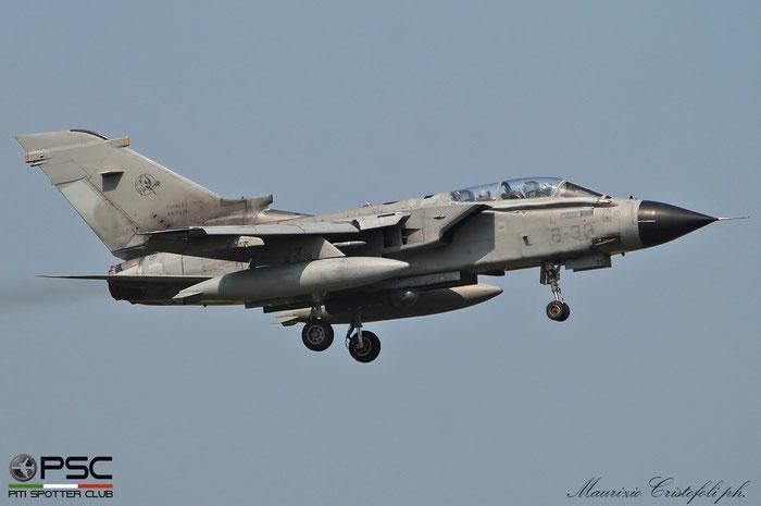 MM7039  6-33  Tornado IDS MLU RET8  345/IS038/5048  GEA 6° Stormo @ Aeroporto di Verona 2021 © Piti Spotter Club Verona