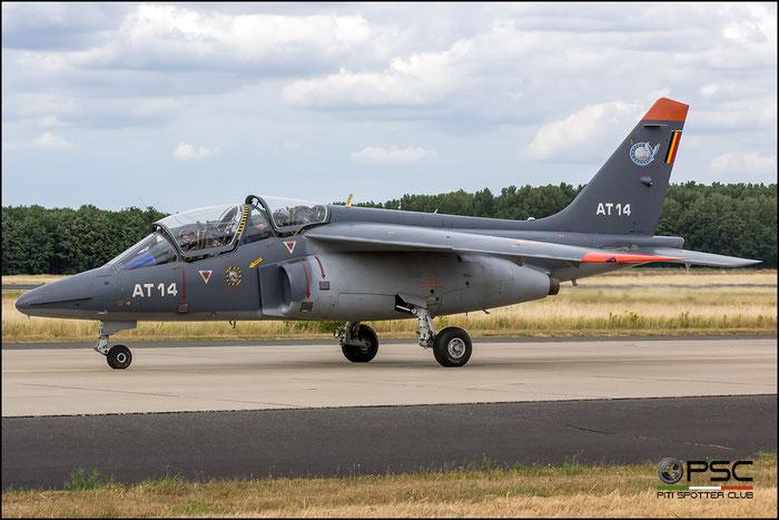 AT14   Alpha Jet 1B+  B14/1043 © Piti Spotter Club Verona